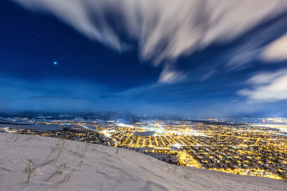 Venus Over Missoula